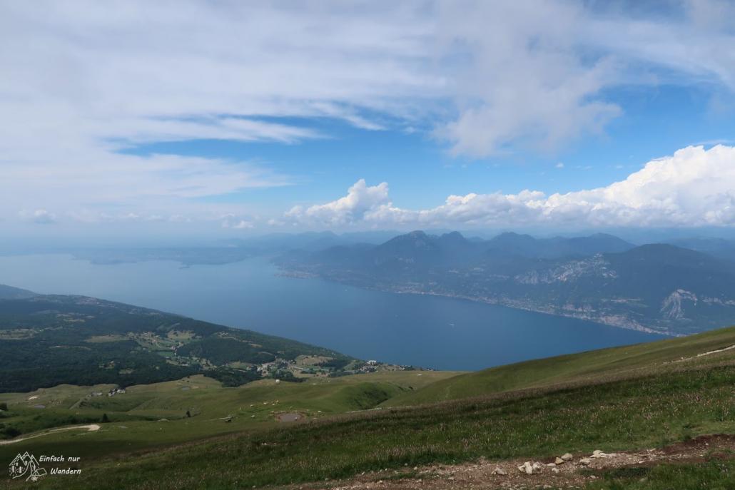 Ein weiterer schöner Blick auf den Gardasee bietet sich uns.