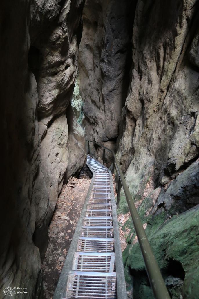 Treppen Elbsandsteingebirge