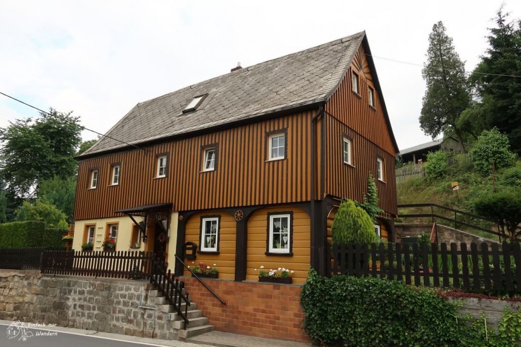 Umgebindehaus in Saupsdorf