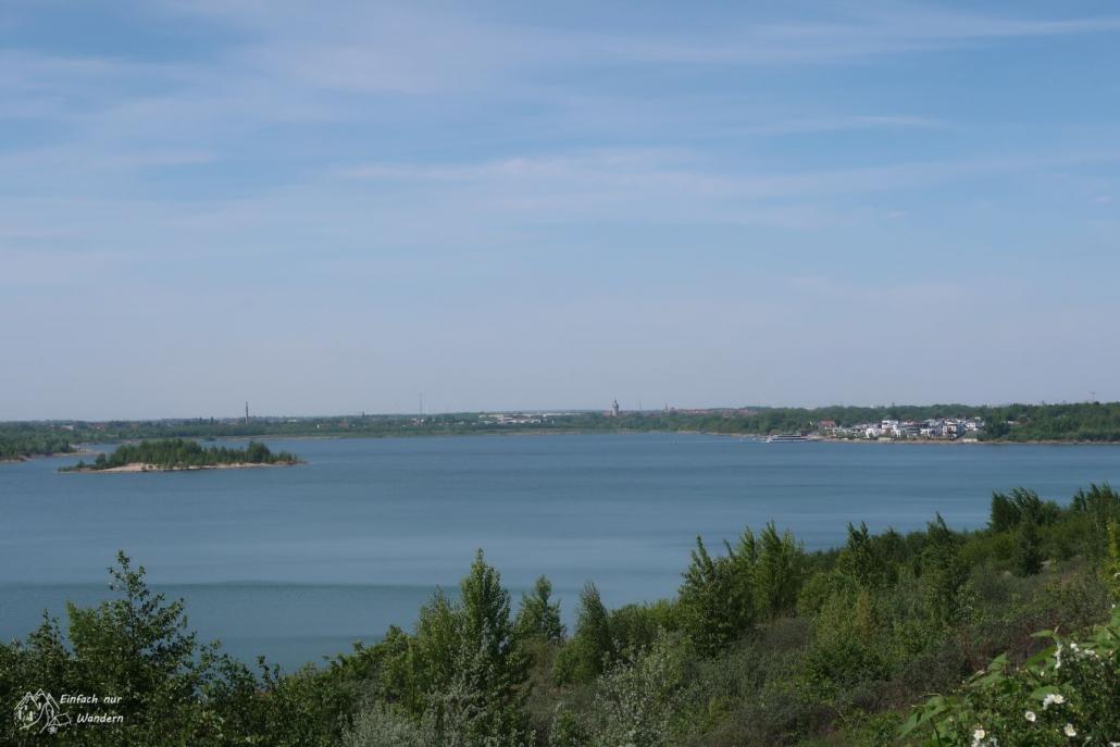 Ein Blick über den Markkleeberger See