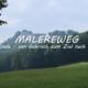 Malerweg Blick auf Festung Königstein