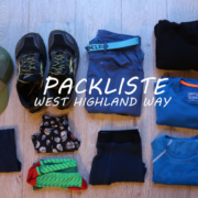 Packliste für den West Highland Way