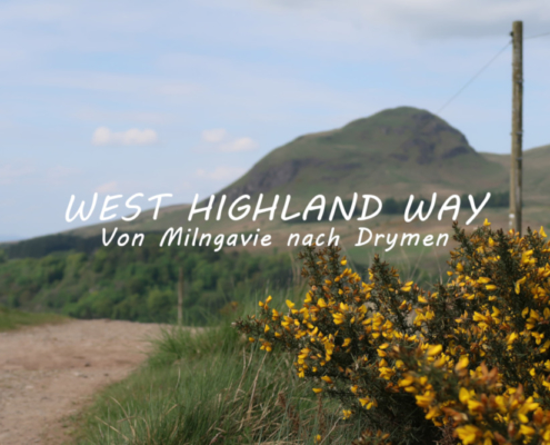 Titelbild West Highland Way von Milngavie bis Drymen