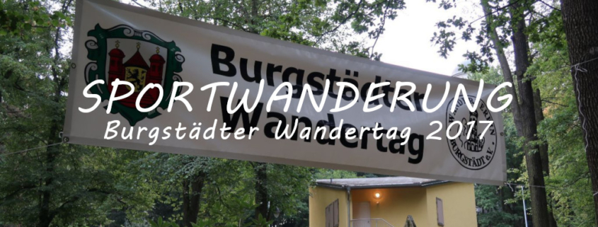 Burgstädter Wandertag 2017