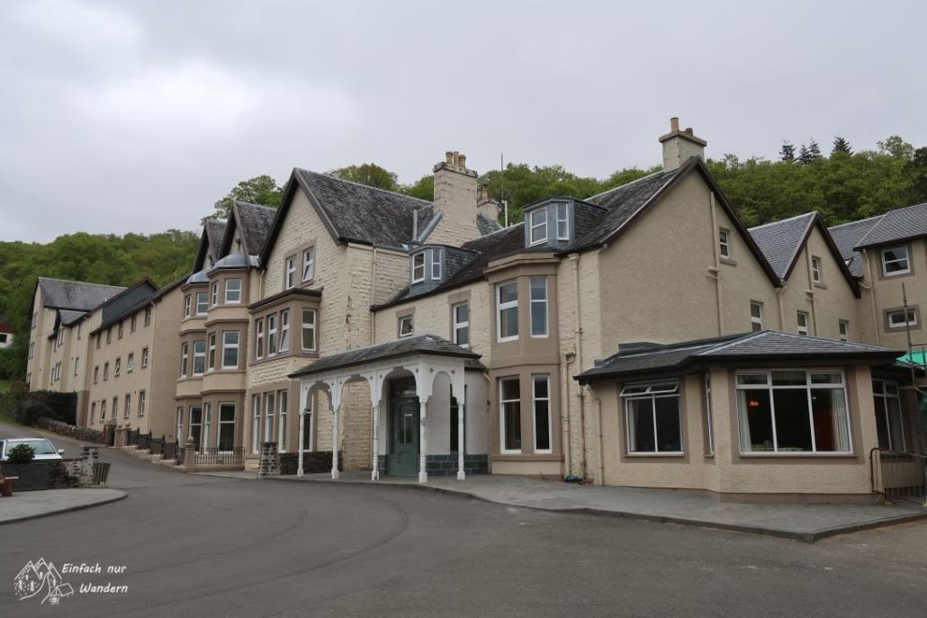 Das Hotel in Inversnaid ist relativ bekannt.