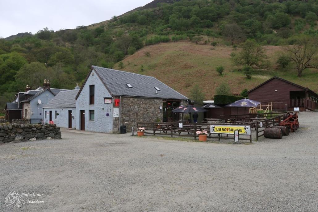 Die Beinglas Farm ist ein kleiner Campingplatz mit Laden und Restaurant.