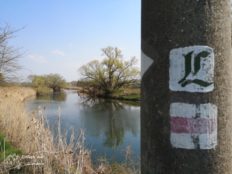 Der Sachsendreier verlief oftmals auf dem sächsischen Lutherweg.