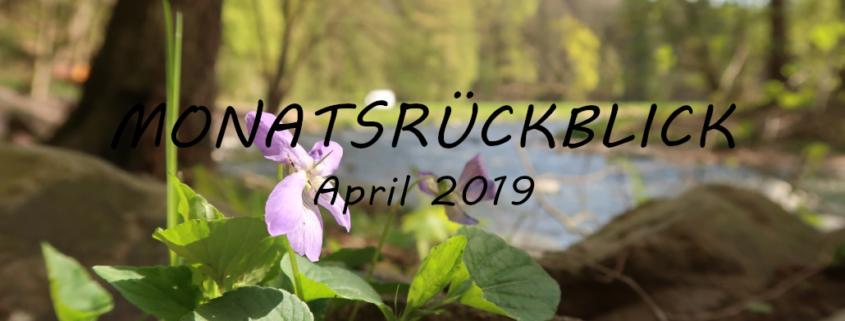 Was vom Monat blieb April 2019