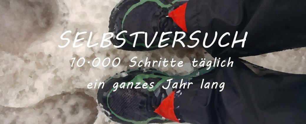 Titelbild 10000 Schritte täglich