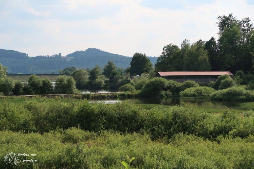 Blick zur Perlseebrücke